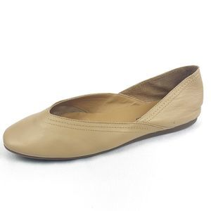 Lucky Brand Alba Deconstructed Leather Flats